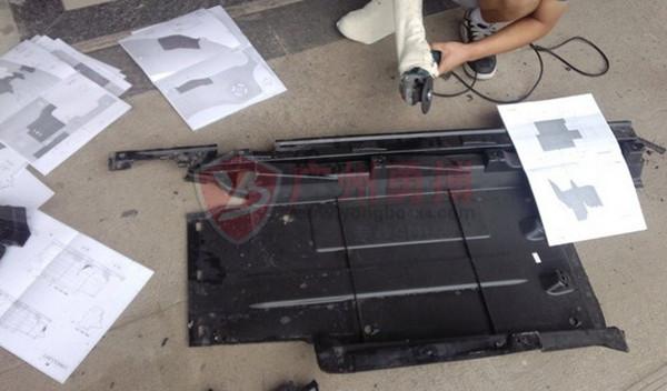奥迪q5原厂款踏板安装